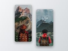 Daily Ui 037 - Weather designed by ucaly. Connect with them on Dribbble; Daily Ui, Silver Spring, Show And Tell, Design Inspiration, Weather, Ui Design, App, Search, Searching