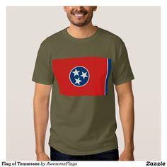 Flag of Tennessee Tshirts