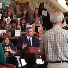 Senator Pat Browne on the importance of high-quality ECE at 2016 Early Childhood Action Day.