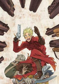 Omfg Vash the Stampede!! Trigun is one awesome show!