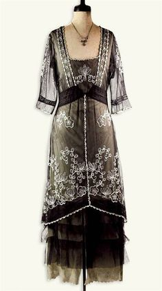 VINTAGE TEA GOWN Every day. This would be on my body every day.