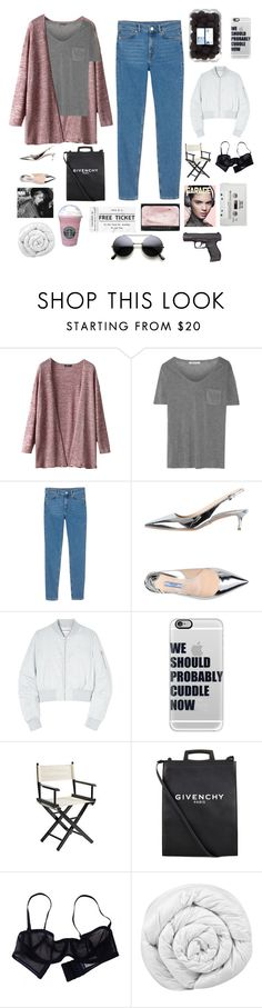 """If my real ain't real enough, I'm sorry for you bae"" by bossbby11 ❤ liked on Polyvore featuring T By Alexander Wang, Monki, Prada, Won Hundred, Casetify, Pier 1 Imports, Givenchy, Eres, Brinkhaus and NARS Cosmetics"