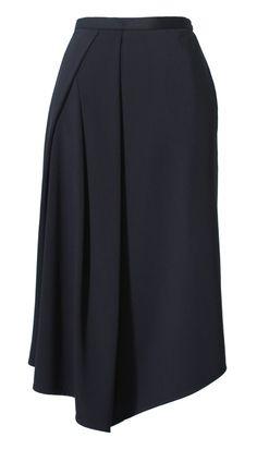 Tibi - Jersey Drape Skirt