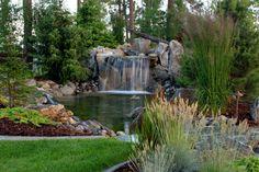 Wasserfall im Garten selber bauen - Oase der Ruhe und Gelassenheit