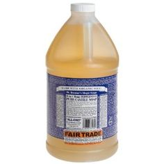 Hardwood, tile and linoleum floor cleaner: 1 gallon water ¼ cup liquid soap 1/8 cup white distilled vinegar