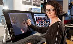 MPC's Nadia Mogilev, concept artist on Guardians of the Galaxy and The Jungle Book, tells us about putting Wacom's giant Cintiq 27QHD to fantastic use.