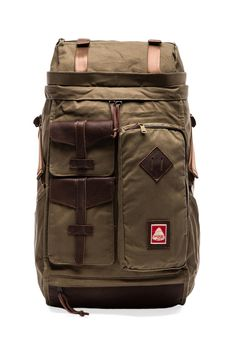 Jansport Skip Yowell Collection Lhasa in Army Green