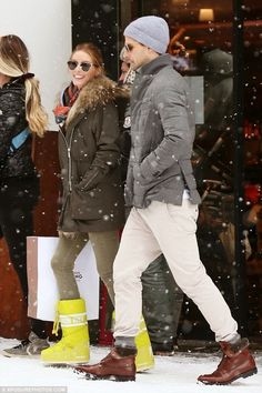 Olivia Palermo and Johannes Huebl on their Swiss vacation in Gstaad.