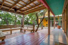 Sandra Cisneros sells King William home Sandra Cisneros, King William, Pergola, Real Estate, Backyard, Outdoor Structures, Studio, Building, Outdoor Decor