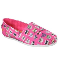 Skechers Women's Bobs Plush Kitty Smarts Memory Foam Slip On at Famous Footwear