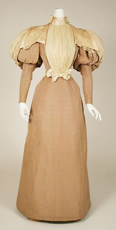 Dress  Worth, 1890  The Metropolitan Museum of Art