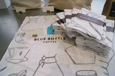 BLUE BOTTLE COFFEE : 手ぬぐい | Sumally (サマリー)