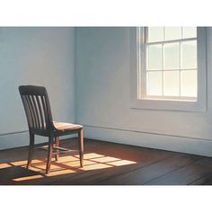 Jim Holland (1955 - Present), American Artist - Light on a Chair - lithograph - 23 x 17