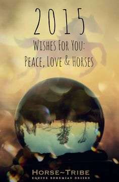 2015 Wishes For You - Peace, Love & Horses