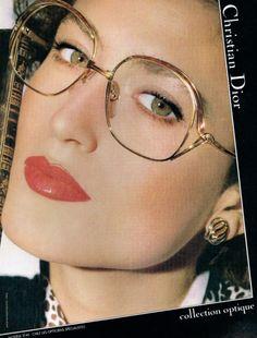 Les Lunettes Dior 1984