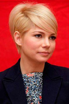 Top 100 Short Hairstyles for Women  #shorthairstyles #celebrityhairstyles #michellewillians