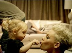 "P!nk's daughter Willow is the star of ""True Love"""