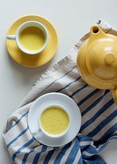 Simple + delicious base recipe to customize however you like! Anti-inflammatory benefits aside, a mug of this comforting turmeric tea is also just the perfect way to cozy up and wind down at the end of a long day. I think it's reminiscent of a chai latte - wonderfully warming and a bit spicy. #turmerictea #goldenmilk