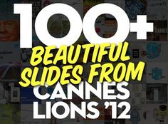 100 Slides from Cannes 2012