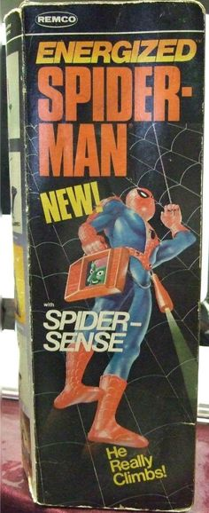 REMCO: 1978 Energized Spiderman with Spider Sense