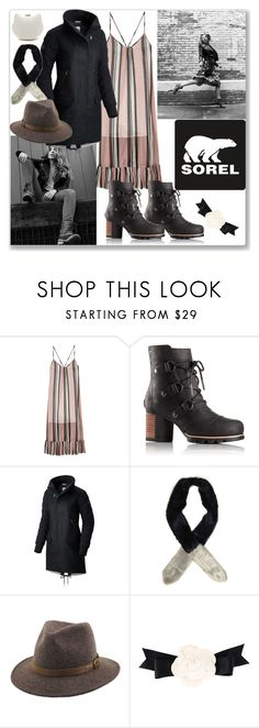 """""""Kick Up the Leaves (Stylishly) With SOREL"""" by ludmyla-stoyan ❤ liked on Polyvore featuring Baum und Pferdgarten, SOREL, Dorothy Perkins, Chanel, polyvorecontest and sorelstyle"""