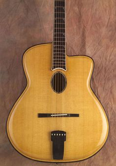 Jesselli Oval hole archtop guitar