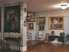 Isabella Stewart Gardner Museum Boston, Blue Room,