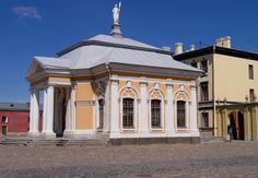 Le Pavillon du Bateau de Pierre Ier - Saint Petersbourg - Construit entre 1762 et 1766 par l'architecte AF Vist.