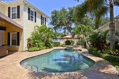 Jupiter Home for sale  with backyard pool!