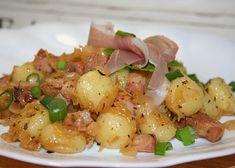 No Salt Recipes, Bacon Recipes, Healthy Recipes, Czech Recipes, Russian Recipes, Ethnic Recipes, Cabbage And Bacon, Potato Salad, Food And Drink