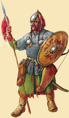 Reconstruction - The western Cuman tribes were in constant contact with Kievan Rus', Byzantium, Hungary, and Bulgaria.