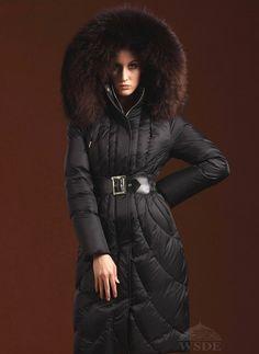 winter coat w/fur hood