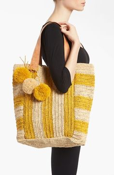 Crocheted tote #moderncrochet