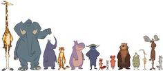New zootopia concept art design reference walt disney Ideas New zootopia concept art design reference walt disney Ideas Zootopia Concept Art, Zootopia Art, Cartoon Kunst, Cartoon Art, Character Design Animation, Character Art, Group Art Projects, Walt Disney Animation Studios, Creature Design