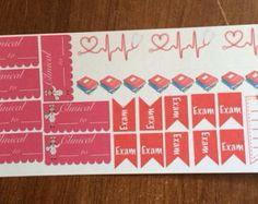 Nursing student 30-sticker set