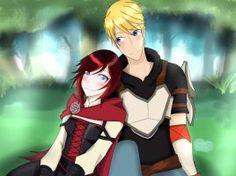 RWBY:Volume 4 Ruby and Jaune by nuricombat on DeviantArt Rwby Volume 4, Rwby Rose, Rwby Comic, Rwby Ships, Rwby Anime, It Goes On, Anime Shows, Love Story, Anime Art