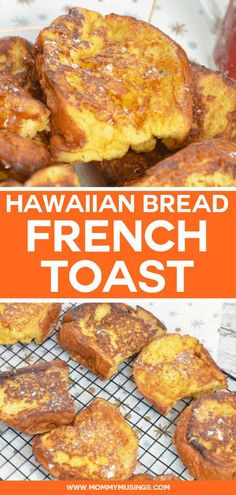 Hawaiian Bread French Toast made with King's Hawaiian Bread Now You Can Have A Safe Health With These Healthy Breakfast Ideas And Recipes. Healthy Sweet Snacks, Nutritious Snacks, Healthy Breakfast Recipes, Yummy Breakfast Ideas, Sweet Breakfast, Healthy Breakfasts, Breakfast For Dinner, Healthy Food, Cheap Clean Eating