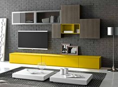 Modern Wall Unit 3D A by Artigian Mobili - $5,059.00