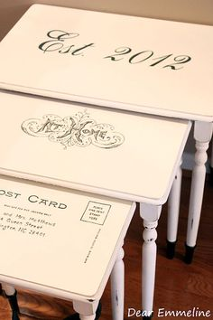 12 Terrific DIY Table Transfers - Page 11 of 12 - The Graphics Fairy