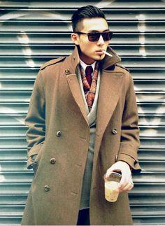 Street style. Men's style