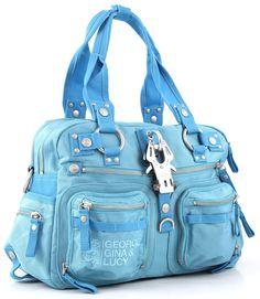 wardow.com - Tasche von George Gina & Lucy, Double B, aqua
