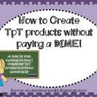 Added nn 10/22/13 Tips and Tricks, how to make TPT banners, how to make lined papers and more.  Here is...
