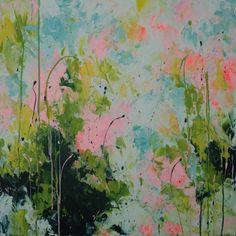Original Abstract Painting Large Painting by ElenasArtStudio