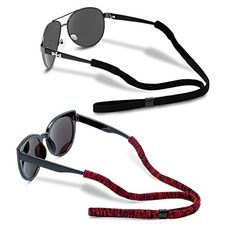 04aaa022597 Glasses Strap (Pack of 6) for Men Women Adjustable Sunglasses Eyewear  Retainer