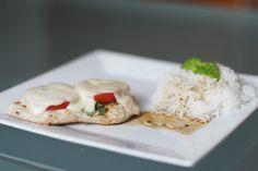 Putenfleisch mit Tomaten & Mozzarella