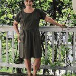 Gratis Schnittmuster einfaches Kleid fuer Damen