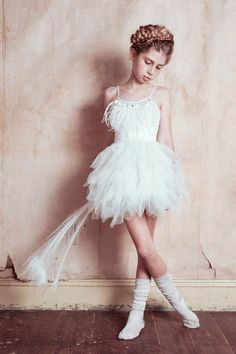 As pretty as a swan, dance on the water. http://www.tutudumonde.com/