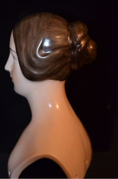 Unusual China Head Lady Doll Royal Copenhagen from oldeclectics on Ruby Lane