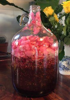 Rose and pomegranate mead Homemade Wine Recipes, Homemade Liquor, Honey Recipes, Alcohol Recipes, Mead Wine Recipes, Homemade Alcohol, Beer Recipes, Brewing Recipes, Homebrew Recipes