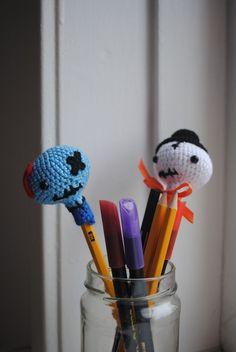 Amigurumi Pencil Toppers